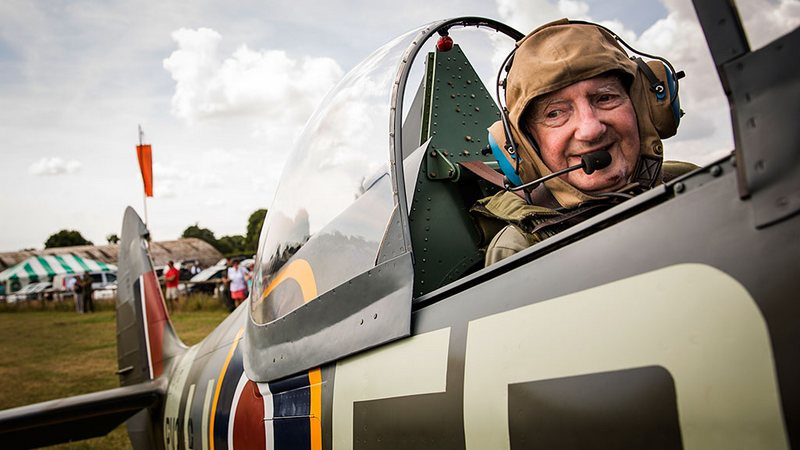 neville-croucher-in-spitfire-fighter