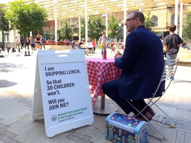 man-skips-lunch-to-feed-hungry-kids